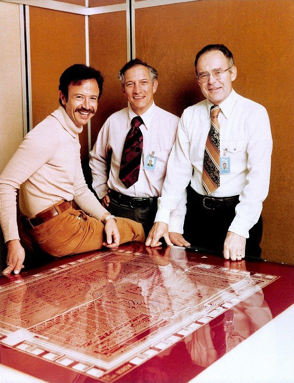 Left to right – Andy Grove, Robert Noyce and Gordon Moore, 1978 Image credit: Intel Free Press