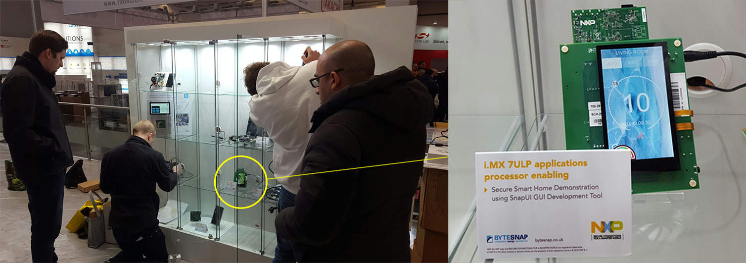 embedded world 2018 - snapui