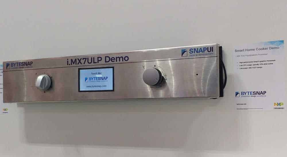Embedded World 2019 - ByteSnap SnapUI demo