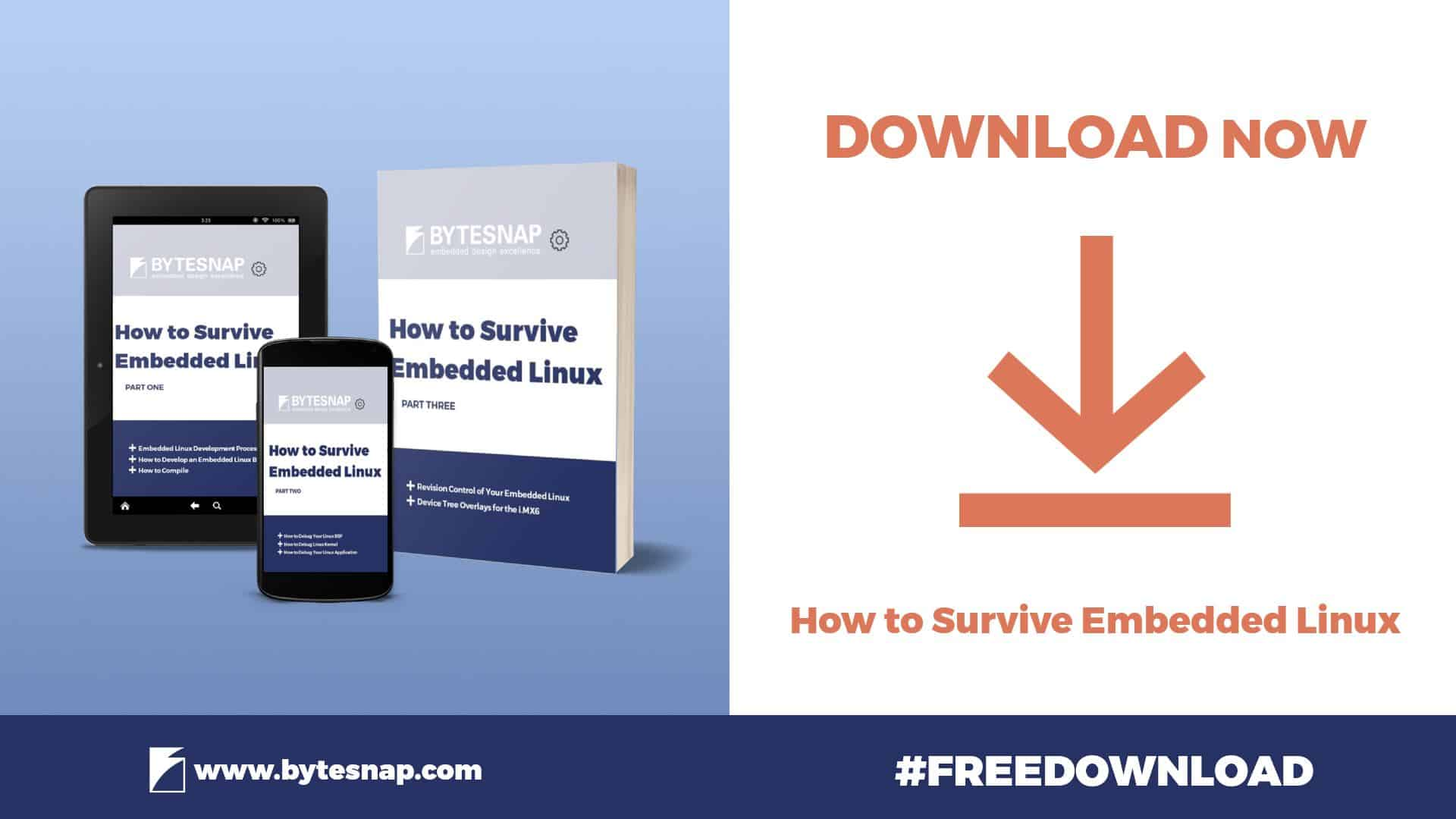how to survive embedded linux downloadable checklist