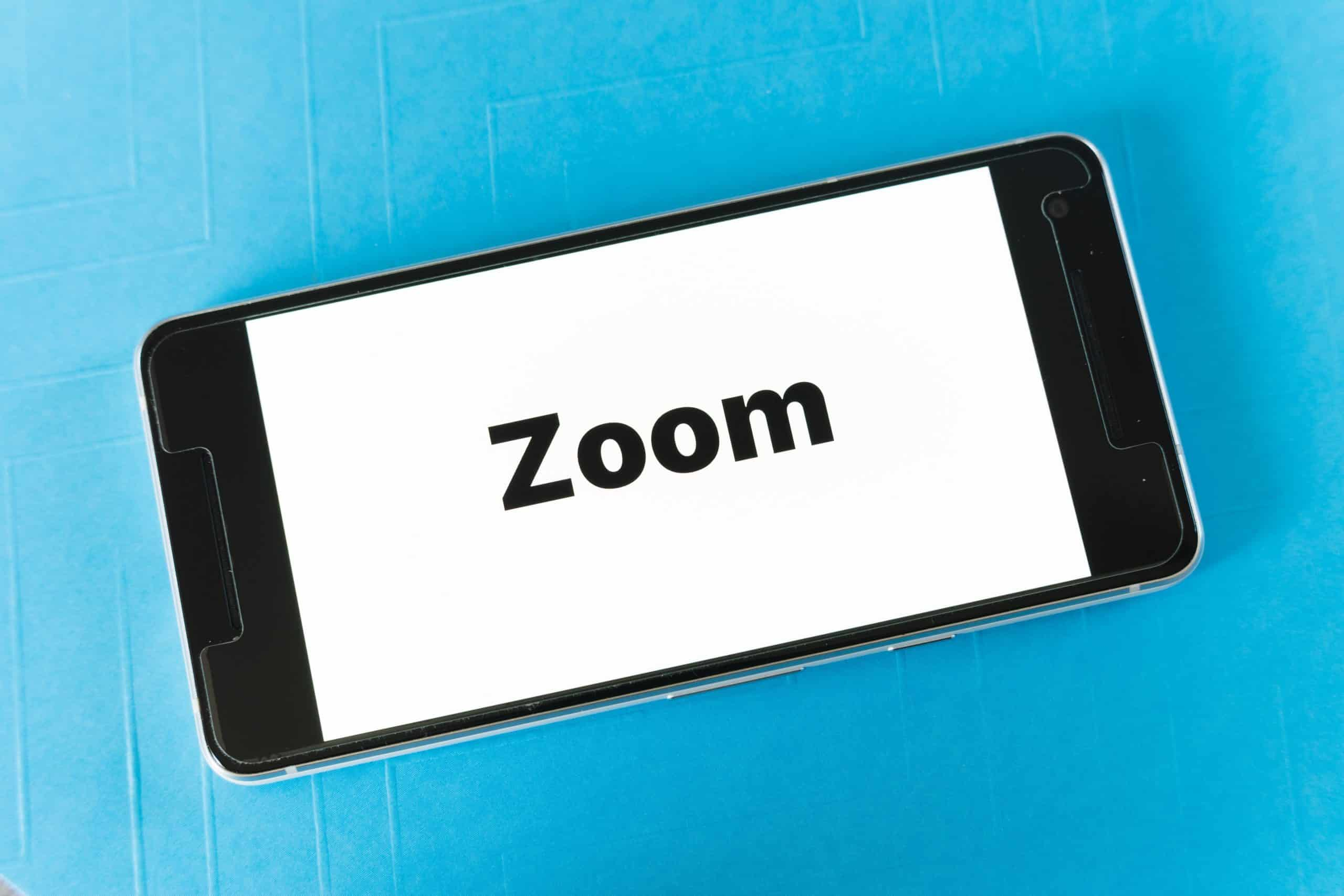 zoom video call when working from home